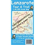 Lanzarote Tour and Trail Map (Discovery Walking Guides)by David Brawn