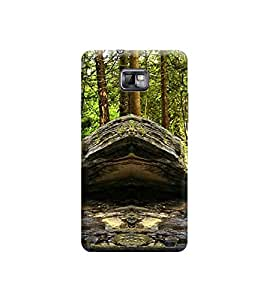 TransMute Premium Printed Back Case Cover With Full protection For Samsung S2 (Designer Case)