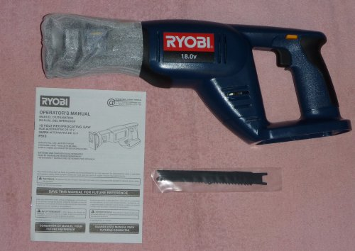 Ryobi P510 18V Cordless One+ Variable Speed Reciprocating Saw (Bare tool only, battery and charger not included)