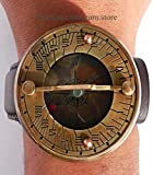 Fully Functional Sundial Compass Wrist Watch-new C-3117-A