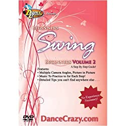Swing Dance, Beginners Vol.2 - Swing Dance Lessons, Guide to East Coast Swing & City Swing (Swing Dance Classes DVD 2 of 2)