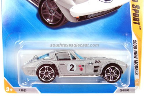 Hot Wheels Corvette Grand Sport Silver 08 40 008/196 [Toy] - 1
