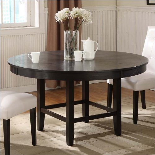 Buy Low Price Modus Furniture Intl Modus Furniture 2Y2161R Bossa 54-Inch Round Dining Table, Dark Chocolate (2Y2161R)