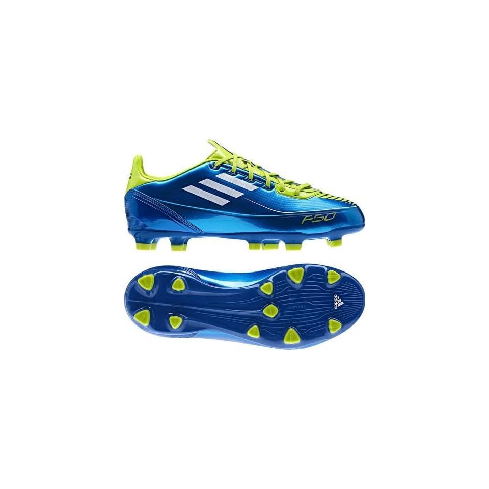 Details zu Fussballschuhe adidas F10 Kinder US 8 weiß 41 pink blau Outdoor