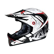 Kali Protectives Avatar 2 Skari Bike Helmet (White/Black, Large)