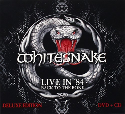 Live In 84 - Back To The Bone [CD/DVD Combo] by Whitesnake (2014-08-03)