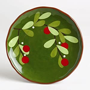 Amazon.com | TAG Jardin Christmas Cranberries Appetizer ...