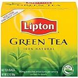 Lipton Green Tea 100% Natural - 40 Tea Bags 3.2OZ (90g)