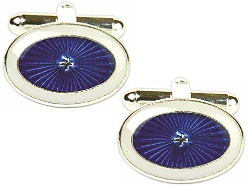 dalaco-premium-calidad-esmalte-gemelos-ahora-con-alta-calidad-caja-de-presentacion-y-boligrafo-blue-