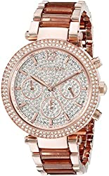 Michael Kors Women's Parker Rose Gold-Tone Watch MK6285