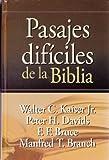Pasajes Dificiles de la Biblia (Spanish Edition)