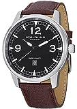 Stuhrling Original Men's 1129Q.01 Condor Swiss Quartz Date Brown Watch