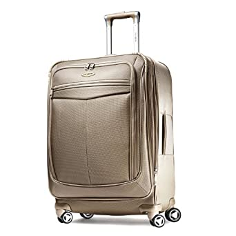 "Samsonite Silhouette 12 25"" Spinner Luggage Champagne"