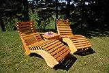 TUGA-Holztech-Naturholz-massive-wetterfeste-extrem-stabile-Luxus-Relaxliege-Massivholzliege-Liege-Formliege-100cm-breit-EXTRA-LIEGELNGE-220cm-HHE-ca-58cm