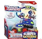 Transformers Animated Bumper Battler Nightwatch Optimus Prime