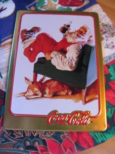 1958 Coca-Cola Santa Card (1994 Limited Edition Metal Card)