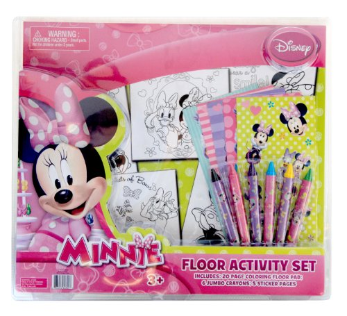 Tri-Coastal Design -Toys Disney-Mickey Mouse Floor Activity Set