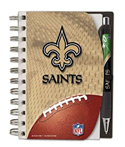 Amazon.com : New Orleans Saints Deluxe Hardcover, 4 x 6