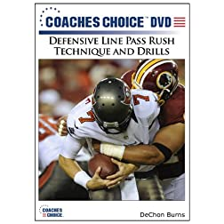Defensive Line Pass Rush Technique and Drills