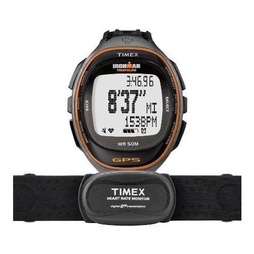 Cheap Timex Ironman Run Trainer S and D with Heart Rate Monitor (T5K575F5)