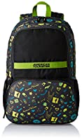 American Tourister Hashtag Black Casual Backpack (Hashtag 02_8901836130812)