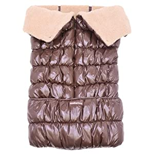 Soothetime Polar Stroller Wrap Stroller and Car Seat Footmuff (Chocolate)