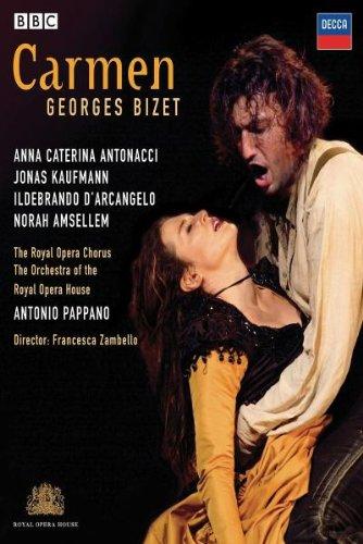 Carmen (Jonas Kaufmann) - Bizet - DVD