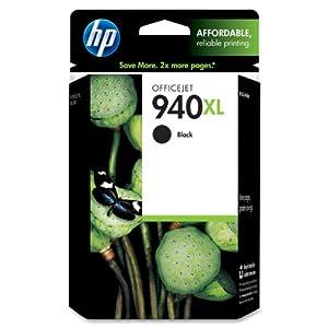 HP 940XL C4906AN140 Ink Cartridge in Retail Packaging-Black