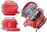 FoneM8 - RED TRAVEL BAG CARRY CASE FOR NINTENDO 3DS DS LITE DSi XL
