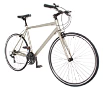 Performance Hybrid Bike / Commuter Road Bike Shimano 21 Speed 700c Bicycle Small (50cm) Silver