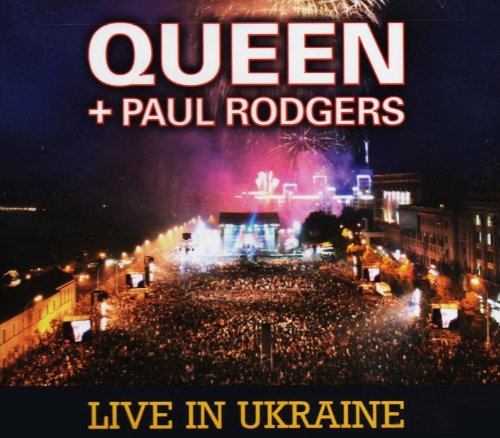 2008 Live In Ukraine (W Dvd) by Queen + Paul Rodgers