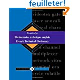 Routledge French Technical Dictionary/Dictionnaire Technique Anglais: Anglais-Francais English-French