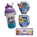 Disney Frozen Children Mealtime Bundle - 7 Pc. Resuable Food Storage Set