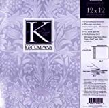 K&Company Postbound Scrapbook Page Protectors 12 Inch x12 Inch -Clear 10/PK
