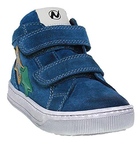 Naturino, Scarpe da barca bambini blu Blau, blu (Blau), 35