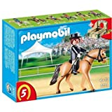 PLAYMOBIL 5111 - German Sport Horse with Dressage Rider + 5108 âEuro