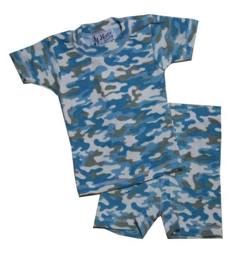 Buy At Home by Jumpers – Blue Camo Short PJ Set