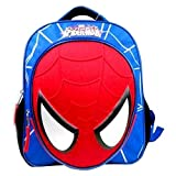 Marvel Spiderman Molded Face Mini Backpack - Blue / Red