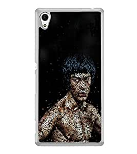 Famous Hollywood Action Hero 2D Hard Polycarbonate Designer Back Case Cover for Sony Xperia Z4