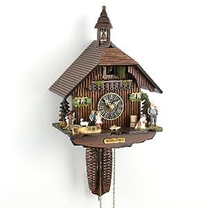 Pendule coucou petite maison de la for t noire amazon for Pendule de cuisine amazon