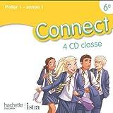 Connect 6e / Palier 1 année 1 - Anglais - CD audio classe - Edition 2011