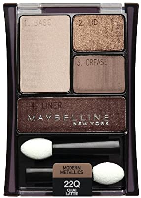 Cheapest Maybelline New York Expert Wear Eyeshadow Quads, Chai Latte 22q, 0.17 Ounce from Maybelline Consumer Products Division Of Loral Usa Sd Inc - Free Shipping Available