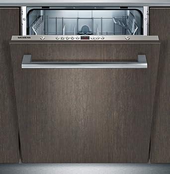 Siemens SN65L005EU lave-vaisselle - lave-vaisselles (Entièrement intégré, A, A+, Marron, boutons, Auto 45-65 ºC, Économie, Intensif, Pré-lavage, Rapide)