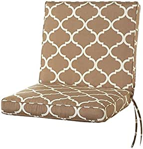 Amazon Box edge Seat back Outdoor Chair Cushion 3