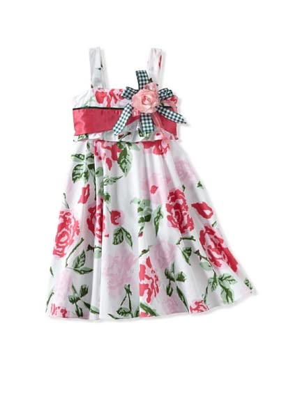 Bonny Billy Girl&#8217;s Floral Flare Dress
