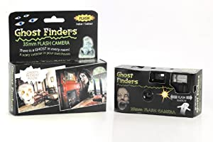Photo Expressions H35F Ghost Finders Ghost Hunting Single-Use Camera with 27 Exposures and ISO 400 Film