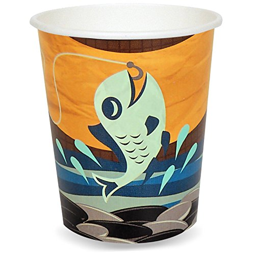 Let's Go Camping 9 oz. Paper Cups (8)