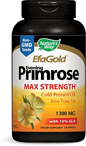 Nature's Way Evening Primrose Cold Pressed 1300mg, 120 Softgels (Primrose Oil Cold Pressed compare prices)