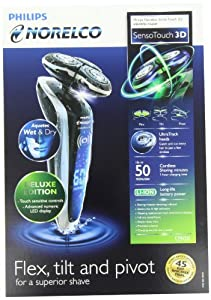 Philips Norelco 1290X/46 Sensotouch 3D Electric Razor, Frustration Free Packaging