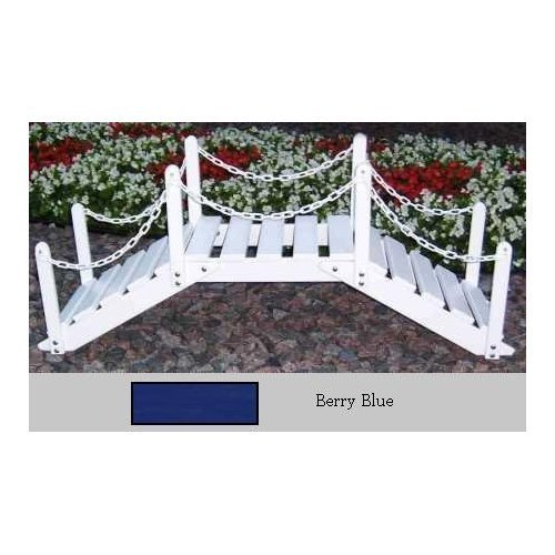 Prairie Leisure 4-ft. Chain Rail Decorative Garden Bridge